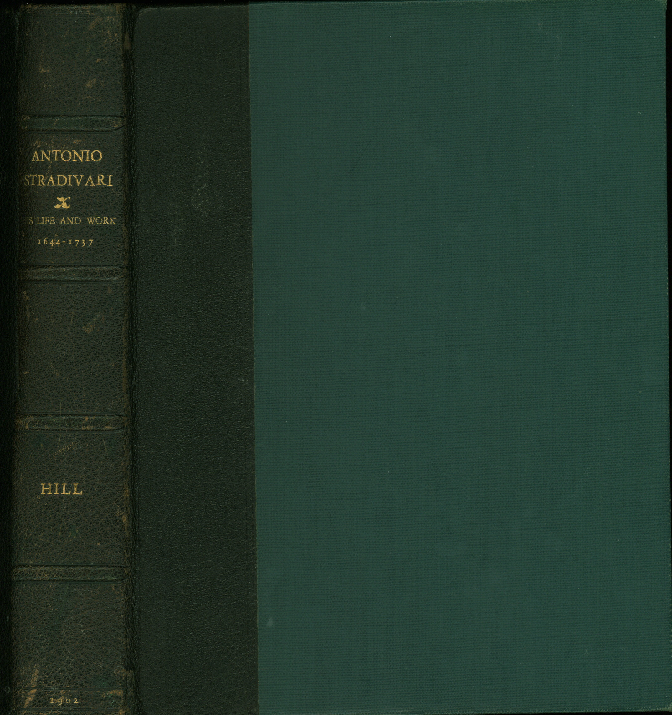 Hill, W. Henry - Antonio Stradivarius: His Life And Work (1644-1737), With An Introductory Note... - (3635)