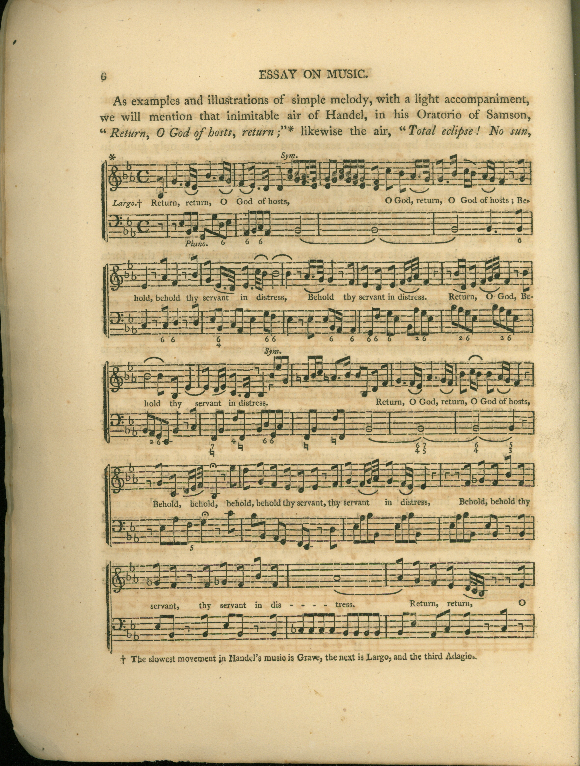 Hubbard, John - An Essay On Music. Pronounced Before The Middlesex Musical Society On Sept... - (4228)