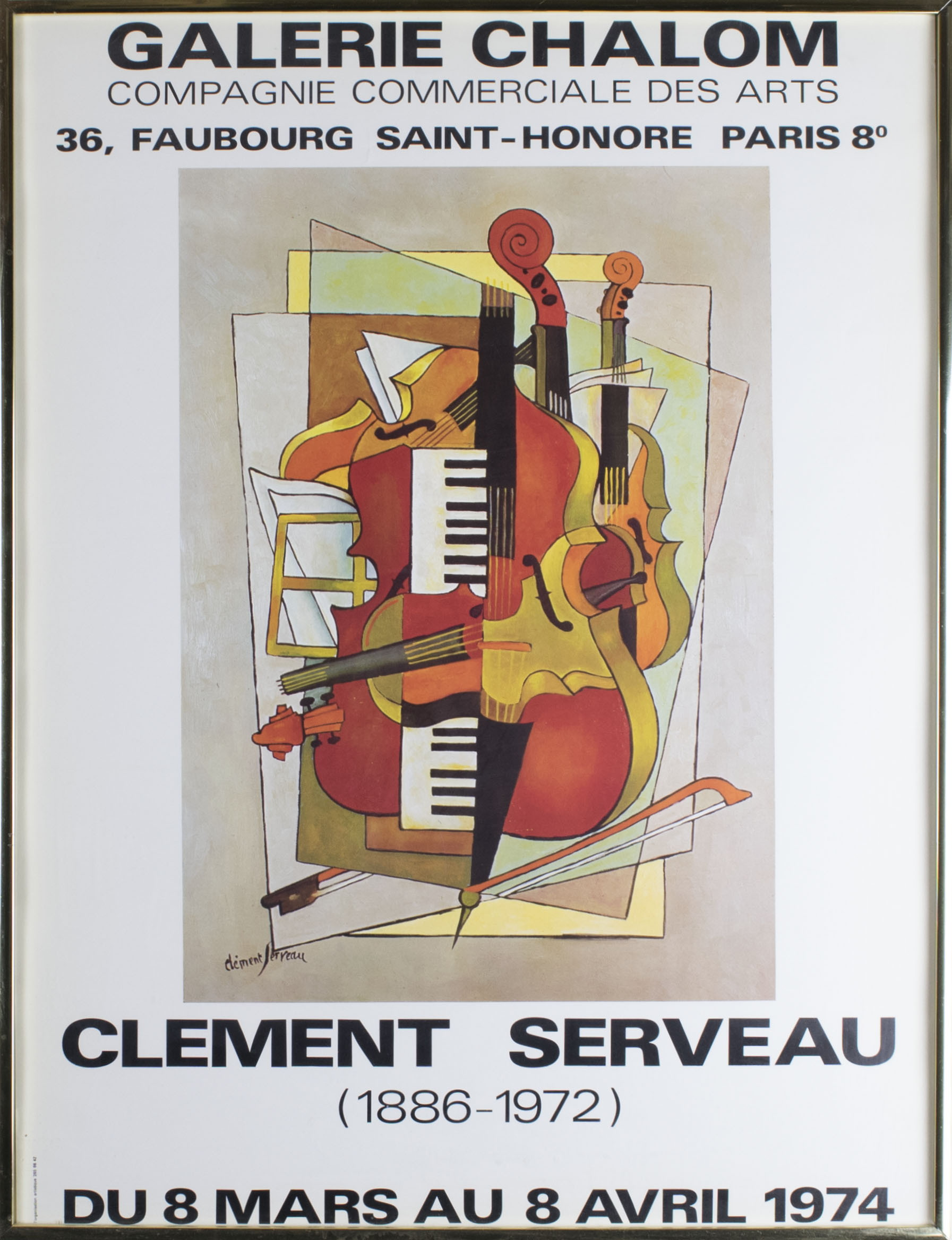 Poster With Instruments - Exhibition Poster With Instruments. - (3889)