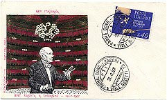 Toscanini First Day Cover - Italian First-day Cover Issued In 1967 For The Great Conductor's... - (1053)