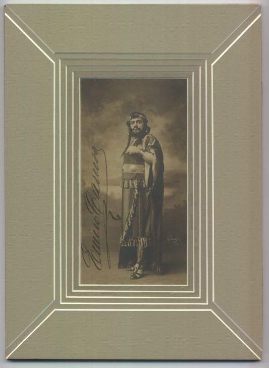 Caruso, Enrico - Photograph In Costume As Samson - (1702)