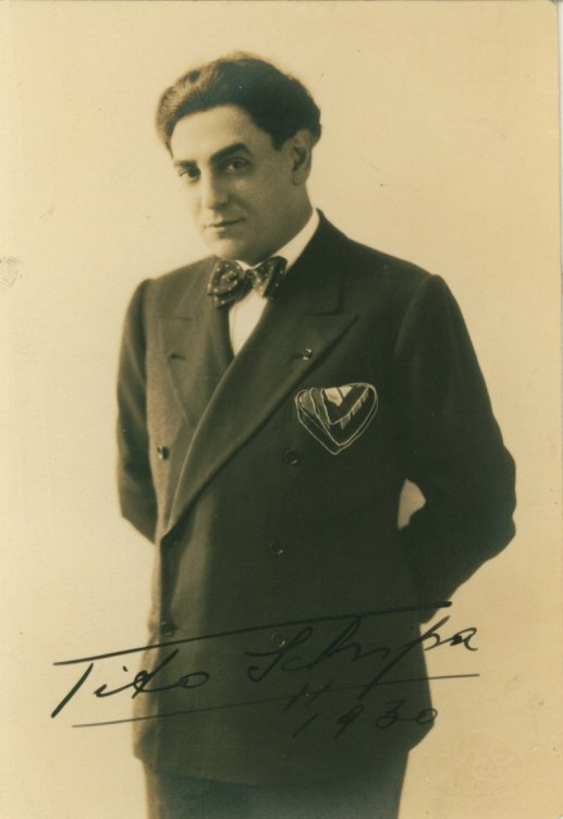 Schipa, Tito - Photograph Signed - (2359)
