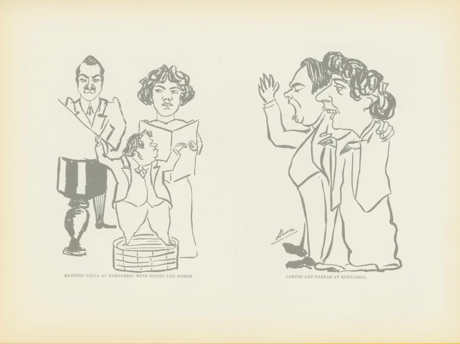 Caruso, Enrico - Caricatures By Caruso. Complete Collection Issued With The Approval Of The... - (6917)