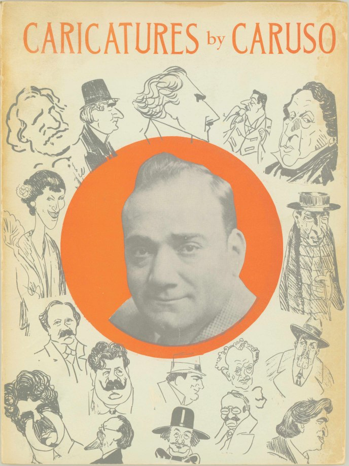Caruso, Enrico - Caricatures By Caruso. Complete Collection Issued With The Approval Of The... - (6916)