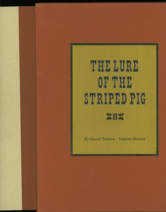 Tatham, David - The Lure Of The Striped Pig: The Illustration Of Popular Music In America... - (5407)