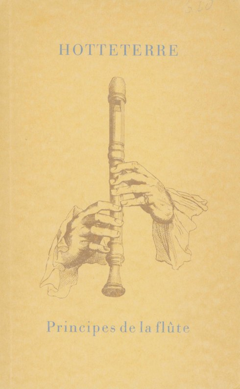 Flute Method Facsimile - Hotteterre, Jacques (le Romain) - (6985)