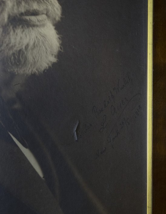 Auer, Leopold - Framed  Signed Photograph. - (3556)