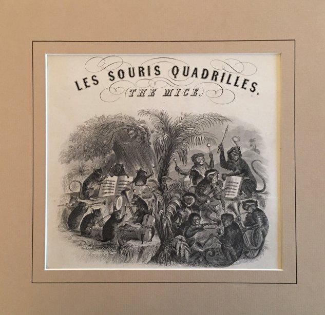 "Mice And Monkey Quadrille - ""Les Souris Quadrilles. The Mice"". - (6949)"