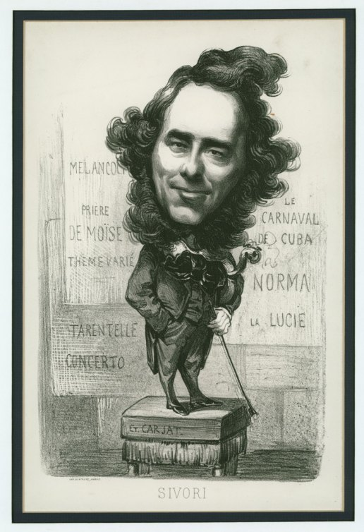 Sivori - A Caricature Of Paganini's Only Pupil - (3641)
