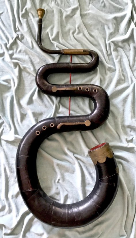 Serpent - 18th-century English Serpent. - (5263)