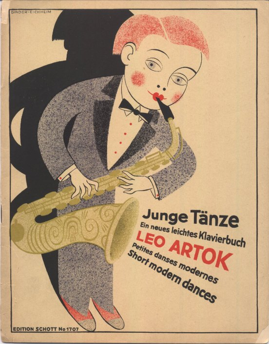 Artok, Leo - Junge Tänze: Short Modern Dances [for Piano]. - (1102)