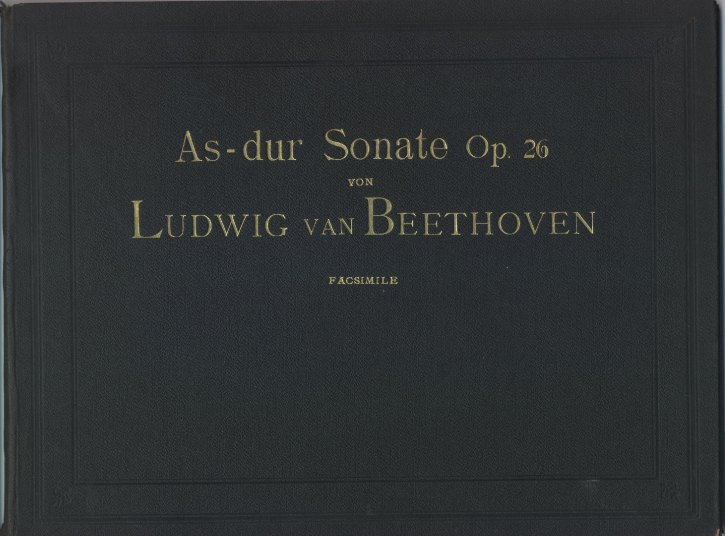 "Beethoven, Ludwig Van - Piano Sonata, Op.  27, No.2, ""Moonlight"", ""Sonate... - (1744)"