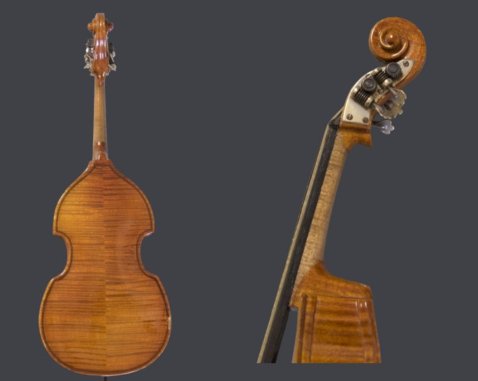 Double Bass Miniature - (3624)