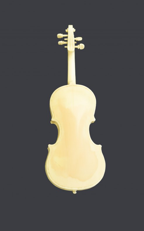 Violin - Ivory Miniature - (5902)