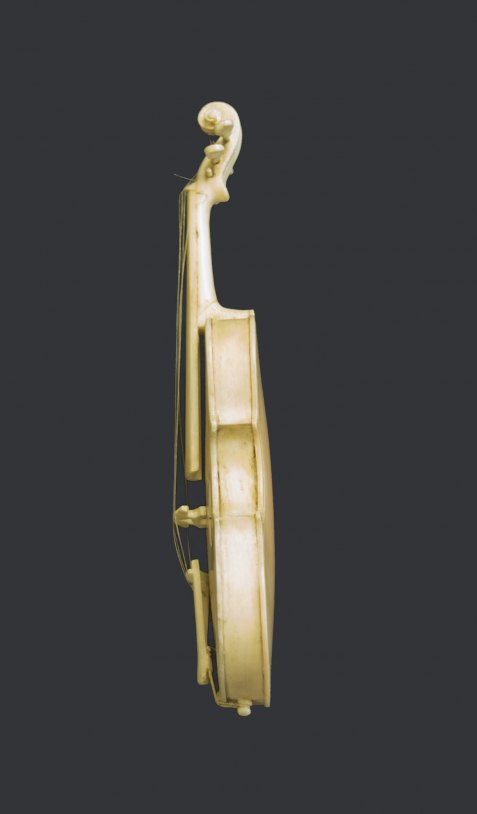 Violin - Ivory Miniature - (5901)