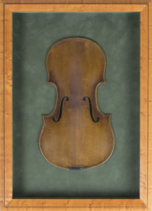 Violin - Salesman's Sample Violin Top - (3904)