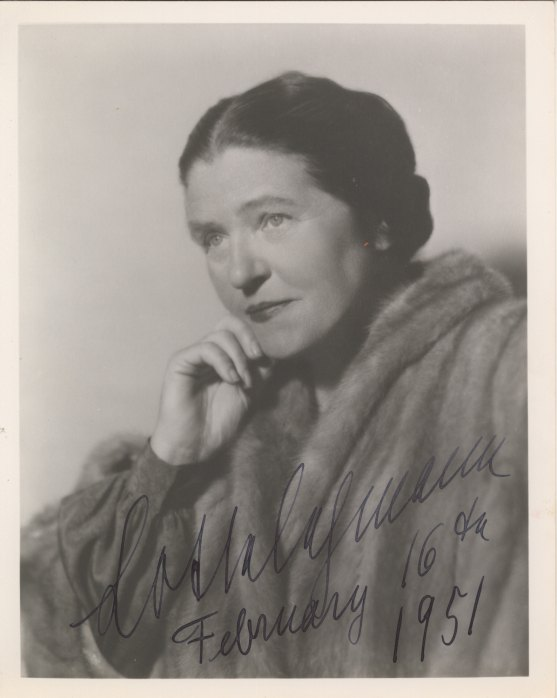 Lehmann, Lotte - Photograph Signed - (3686)