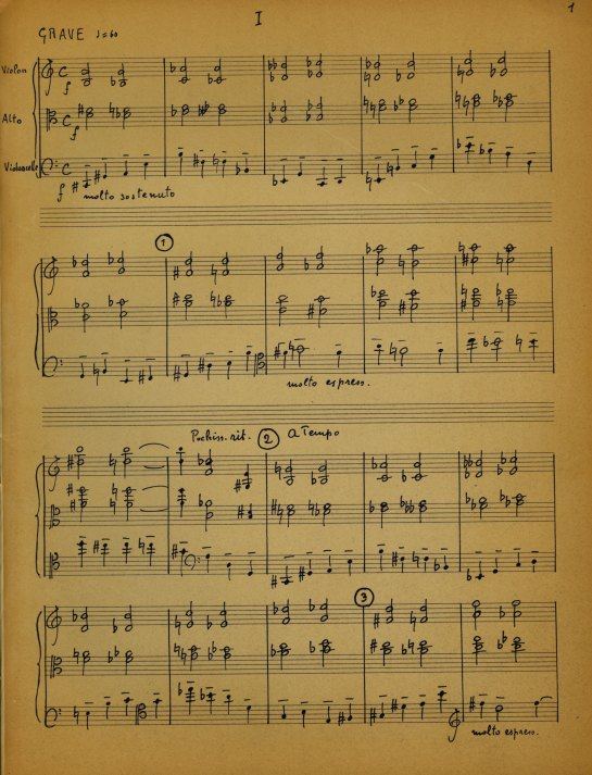 Martin Signed Score And Parts - Martin, Frank - (5817)